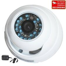 """1/3"""" CCD Security Camera Outdoor IR Day Night Vision Wide Angle Surveillance 1wx"""
