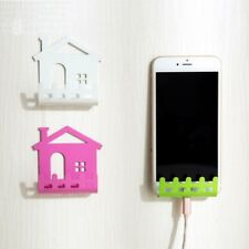 Charging Phone Wall Holder Sticker Stand Adhesive Remote Controller Rack Socket