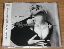 MADONNA Rescue Me (Remixes) GERMAN 3 TRACK CD SINGLE 9362-40035-2 MINT!!