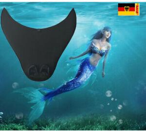Kinder Mädchen Meerjungfrau Flossen Schwanz Schwimmflosse Monoflosse Schwimmen