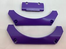 LEGO 24118 24119 - NEW Purple Curved Panel & 2 Car Mudguards