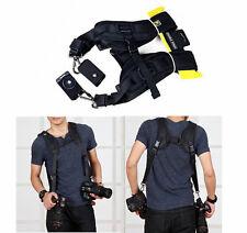 Double Camera Stable Dual Shoulder Strap for NIKON D90 D3100 D7100 D7000 D300S