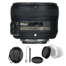 Nikon 50mm f/1.8G Lens with Ultimate Accessory Bundle For Nikon D5200 and D5300