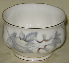 UNUSED Royal Albert Silver Maple English Bone China Small Open Sugar Bowl