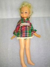 1969 Ideal Crissy Look Around Velvet Doll Gh-15-H-157 15 Inch Sleep Eyes
