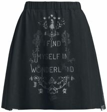 Alice in Wonderland Kawaii Gothic Cosplay Tea Party Skirt Size S