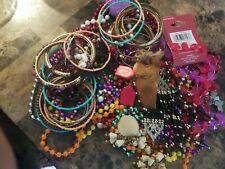 Mixed beads jewelry lot
