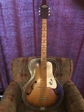 Vintage Truetone Western Auto Archtop Guitar Kay Made in USA  RARE