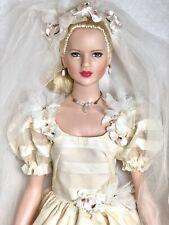 "Robert TONNER ""GILLIAN"" in Bridal Gown 20"" Doll ~ ARTIST REPAINTED"