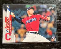 James Karinchak RC 2020 Topps Series 2 #380 Cleveland Indians