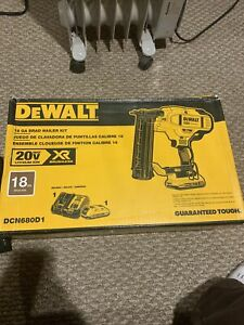 DEWALT DCN680D1 20V XR 18 Gauge Brad Nailer Kit New Sealed Dewalt Nailer Pinner