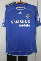 Chelsea London 2006 2007 2008 Home Adidas Shirt Jersey Trikot size L