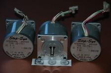 LOTE 3 MOTORES PASO A PASO SANYO DENKI  MOTOR PAP CNC 3D PRINTER ...103-770-1