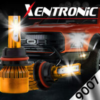 XENTRONIC LED HID Headlight kit 9007 HB5 6000K for 2003-2007 Saturn Ion