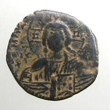 Constantine Viii Bronze Ae29 Follis_Byzantine Empire_Bust Of Christ