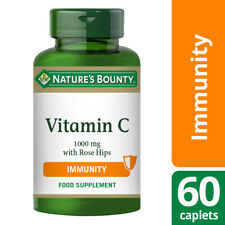 Nature's Bounty Vitamin C 1000mg with Rose Hips - 60 Coated Caplets