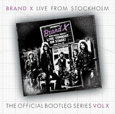 Brand X : Live from Stockholm CD (2016) ***NEW***