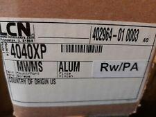 LCN Allegion Aluminum Door Closer Arm RW/PA 4040XP New.