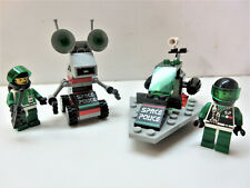 Lego Vintage Space Police Ii #1969 & #6813-100% w/minifigs-no manuals (1993)