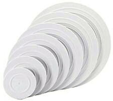 "12"" White Round Smooth Edge Decorator Preferred Separator Plate Wilton 302-4104"