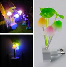 LED Kinder Nachtlicht Cartoon Pilz-Touch Lampe Leuchte Notlicht Energie-sparen