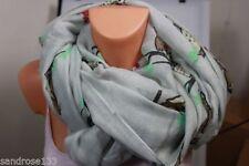 Mehrfarbige Schlauchschals aus Viskose/Rayon für Damen