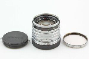 🔸N MINT++🔸 Nikon Nikkor H.C 50mm 5cm f2 MF Lens Black Belt L39 Leica LTM Japan