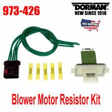 For Dodge Durango Dakota 2001-2009 HVAC Blower Motor Resistor Kit 973-426
