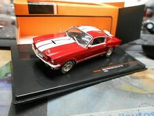 Ford Mustang Shelby GT 350 gt350 us muscle car 1965 red rojo clc335n Ixo 1:43