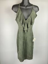 NWT Lovely Day Women's Scoop Neck Blouse/Tank Size Medium Green