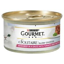 Gourmet Solitaire Beef With Tomato Sauce and Spinach 85g - Pack of 12
