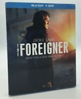 Foreigner, The (Blu-ray+DVD, 2018; 2-Disc Set) NEW w/ Slipcover  Jackie Chan