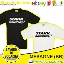 T-Shirt - Stark Industries  Tribute Iron Man Marvel Film Howard Stark Tony Stark