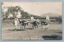 Vendedores de Loza~Pottery Vendors RPPC Oaxaca Mexico Antique Photo 1910s