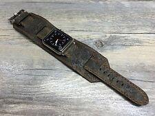 Apple Watch Series 5, Apple Watch Cuff Band, Brown Apple Watch Band 40mm, 44mm