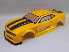 "RC CAR KAROSSERIE 1:10 ""US MUSCLE CAR"" ORANGEMETALLIC 190MM # HX046"