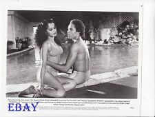 Eugenia Wright busty, Leon Isaac Kennedy VINTAGE Photo Penitentiary II