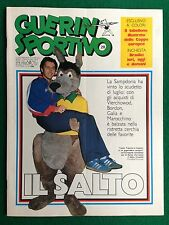 GUERIN SPORTIVO 1983 n 28 , IL SALTO , FRANCIS SAMPDORIA