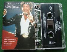 The Legendary Tom Jones In the Midnight Hour Ladies Night + Cassette Tape TESTED