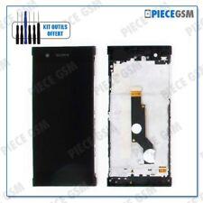 Ecran LCD vitre Tactile Frame pour Sony Xperia Xa1 Noir outils