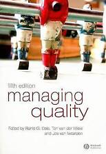 Managing Quality by Dale, Barrie G. -ExLibrary