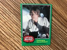 1977 TOPPS STAR WARS VINTAGE (20) VARIOUS GREEN CARDS