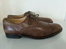 Gorgeous Italian Designer STEMARMens Brown shoes UK size 9.5