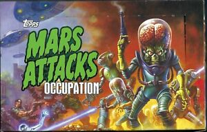 Mars Attacks Occupation Topps  SEALED BOX **24 packs 2 BIG HITS + OTHER SPECIALS