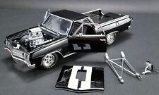 1:18 Scale 1965 Chevrolet El Camino - Drag Outlaws - Gloss Black