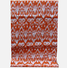 New Twin Size Cotton Bed Cover Bedspread Blanket Ikat Print Throw Kantha Quilt