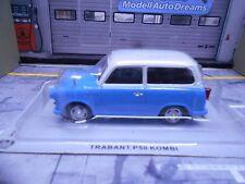 TRABANT MKI 1 DDR P50 P 50 Kombi blau creme IXO Altaya Atlas Sonderpreis 1:43