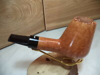 PIPA PIPE  CAMINETTO  MOUSTACHE 02 35 SMOOTH HAND MADE ITALY NEW 3 OCCASIONE