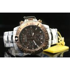 Invicta Subaqua Noma II Chronograph Brown Dial Stainless Steel Men's Watch