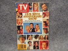 TV Guide Magazine 1993 December 18-24 Vol 41 No 51 40th Anniversary Show
